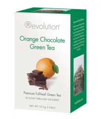 Orange Chocolate Green Tea