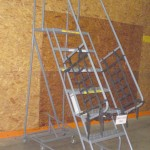 Used 7 Step Rolling Ladder