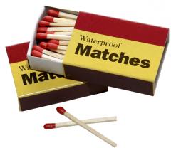 Box of Waterproof Matches