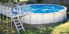Pool Sharkline 54″ Pool w/ Deck Package