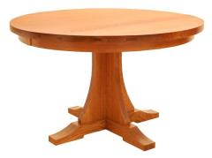 Round Craftsman Table