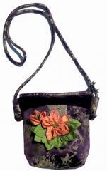 Aubergine Little Bag