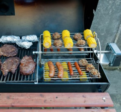 Sectional System with Grill