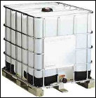 Plastic Poly Tote (steel cage / pallet &
