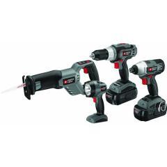 4-tool 18v Cordless Kit