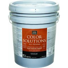 Color Solutions™ Latex Flat Self-Priming Exterior House Paint