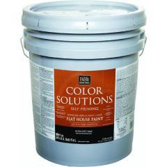 Color Solutions™ Latex Flat Self-Priming Exterior