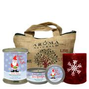 Santa Spice Holiday Candle Set