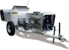Single Axle Mobile Pump
