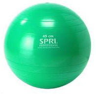 SPRI® Professional Xercise Ball: 45cm Green