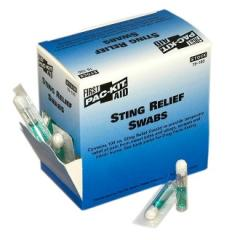 Sting Relief Swabs