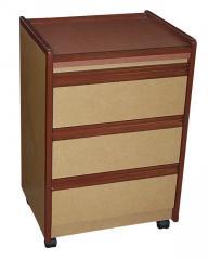 Shoreline Bedside Cabinet 3-Drawer