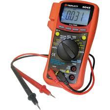 Triplett Ac/Dc Digital Multimeter Model 9005