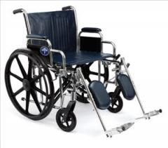 Excel Extra-Wide Wheelchair w/Removable Arms and