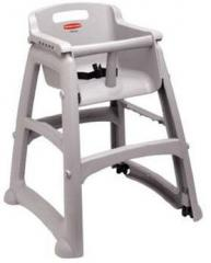 Rubbermaid Heavy-Duty Plastic High Chair