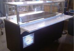 Vollrath 5ft Refrigerated Cold Table w/ Serving