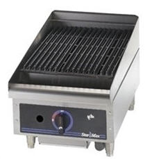 Star-Max Charbroiler, countertop, gas,