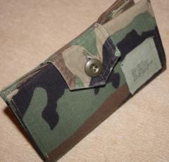 """Logistics"" Camouflage Checkbook"