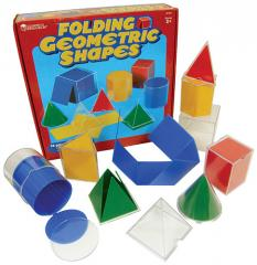 Folding Geometric Shapes Set