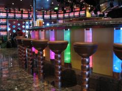 EFX ICE Illusion Lighted columns and sconces