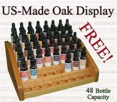 US Made Oak Display