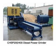 Diesel Power Grinder, Slab/Pallet Line