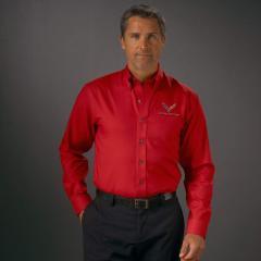Nailshead Buttondown Dress Shirt Corvette