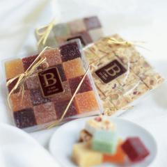 Trio of Marzipan, Nougat and Pate de Fruits