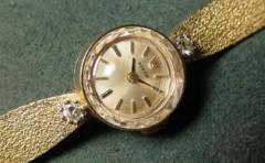 Ladies Gold & Diamond Rolex Watch