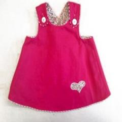 Chocolate Soup Reversible Pinafore