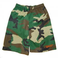Chocolate Soup (Hearts for Haiti) Camo Shorts