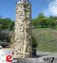 Rock Wall Inflatable Play Structure