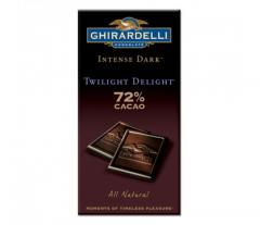 Intense Dark 72% Cacao Twilight Delight Bar