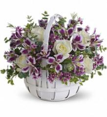 Sweet Moments Flower Basket