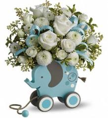 MiGi Baby Elephant Flower Arrangement by Teleflora