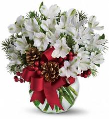 Let It Snow Floral Arrangement