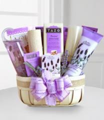 Fields of Lavender for Mom Gift Basket