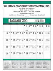 Contractor's 13-Sheet Calendars