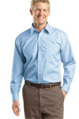 Check Non-Iron Button-Down Shirt
