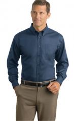 Herringbone Non-Iron Button-Down Shirt