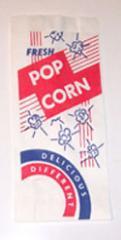 Paper popcorn bag
