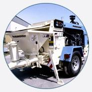 TKB 80 hydraulic ball valve trailer pump