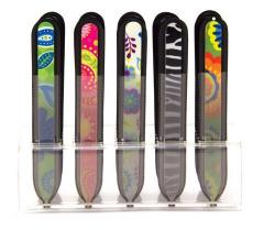 Fashion Glass Nail File Assortment