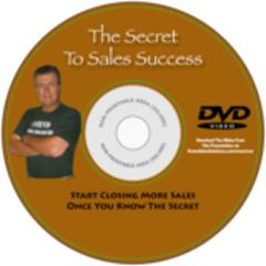 The Secret to Sales Success-DVD