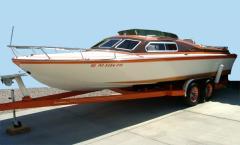 1974 Campbell 24' Cuddy Cabin Boat