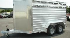 Featherlite Model 8107 Bumper Pull Cattle Trailer