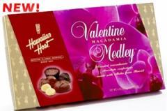 Valentine Macadamia Medley Chocolates