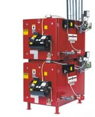 Multiple Clean Burn Boilers