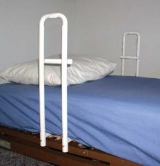 Hospital Bed Rail Handle Double Handle- Spring Style