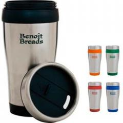 Color Band Travel Tumbler - 13 oz.